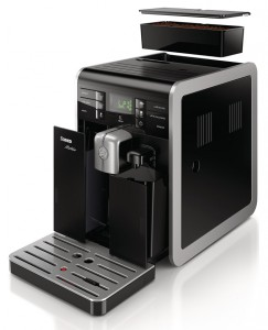 Саеко Молтио со снятым контейнером для кофейных зерен